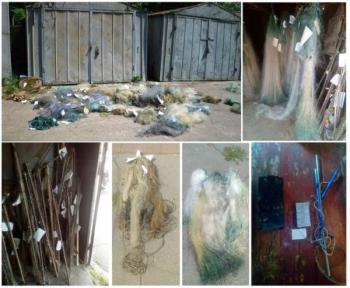 Чернігівський рибоохоронний патруль знищив 546 одиниць заборонених знарядь лову