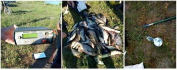 На річці Сож затримано електровудочників з 34 кг риби, - рибоохоронний патруль Чернігівщини