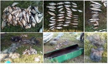 Чернігівський рибоохоронний патруль вилучив 15 кг риби зі збитками на майже 9 тис. грн