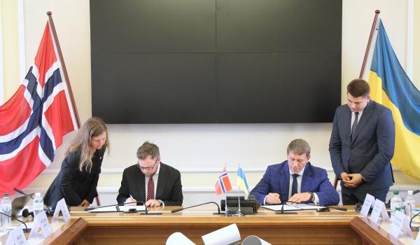 Голова Держрибагентства Ярослав Бєлов взяв участь у засіданні українсько-норвезької Міжурядової комісії