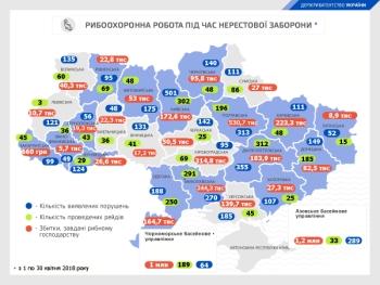 За перший місяць нересту органи рибоохорони зафіксували порушень на суму 4,7 млн грн, - Ярослав Бєлов