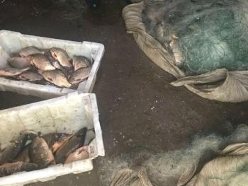 Одеський рибоохоронний патруль затримав порушника з 25 сітками