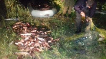 931 порушення зі збитками на 216 тис. грн, - результат роботи Житомирського рибоохоронного патруля за пів року