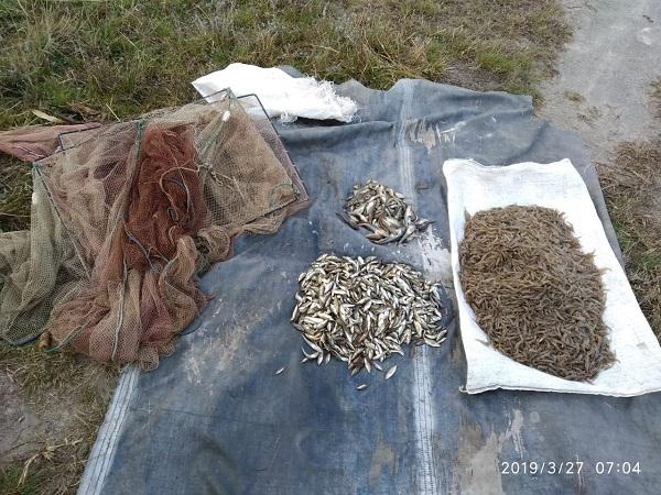 У Березанському лимані порушник незаконно виловив понад 7 тис. екз. біоресурсів, - рибоохоронний патруль Миколаївщини