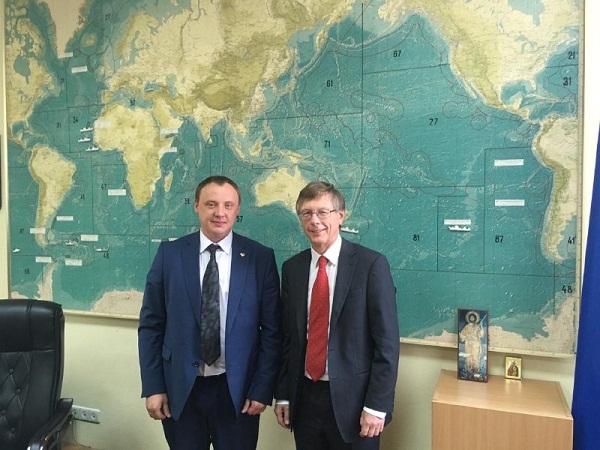 У Держрибагентстві відбулась зустріч з виконавчим секретарем ККАМЛР