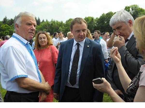 Голова Держрибагентства Ярослав Бєлов привітав колектив НУБіПу з 121-річницею заснування