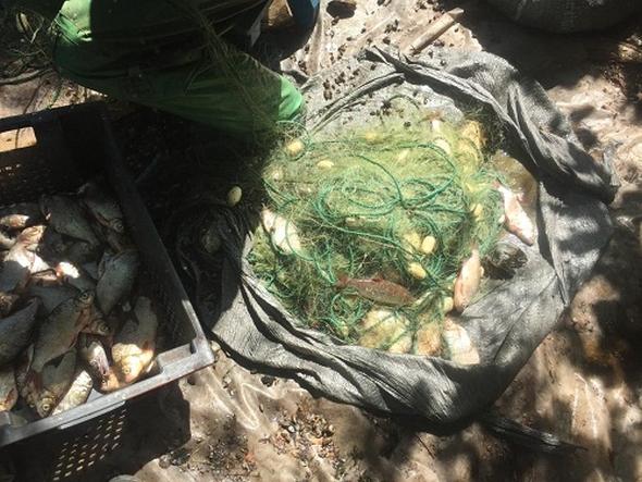 На Кам'янському водосховищі промислові рибалки завдали збитків у розмірі 22 тис. грн, - Управління оперативного реагування