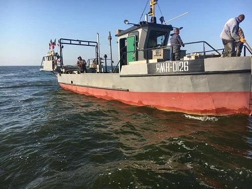 Викрито промислового рибалку, який завдав 182 тис. грн збитків, - рибоохоронний патруль Херсонщини