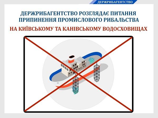 Промислове рибальство на Київському та Канівському водосховищах має бути припинено, - Ярослав Бєлов