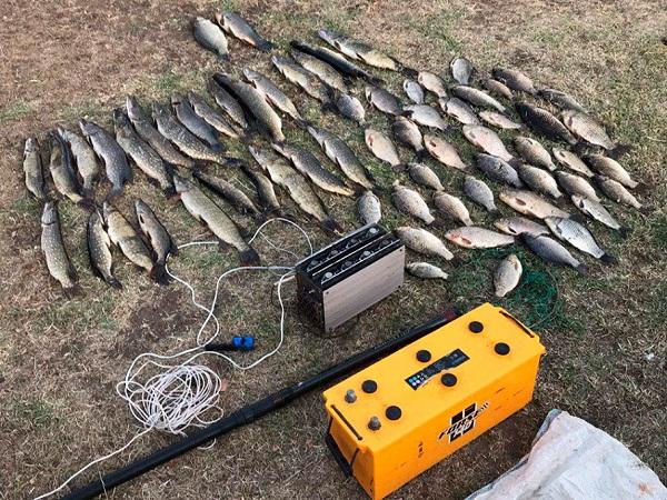 За допомогою електроструму порушники добули 30 кг риби, - рибоохоронний патруль Запоріжчини