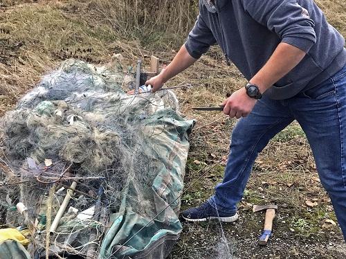 На Івано-Франківщині утилізовано понад 300 незаконних знарядь лову