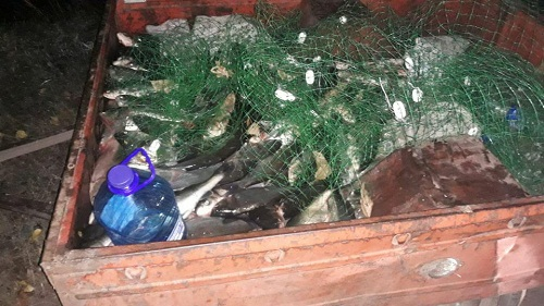 Протягом одного дня порушники виловили 170 кг риби на майже 87 тис. грн збитків, - рибоохоронний патруль Запоріжчини