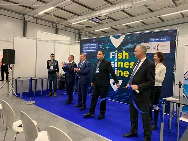 Ярослав Бєлов взяв участь у відкритті першої міжнародної виставки ''Fish Business Ukraine 2019''