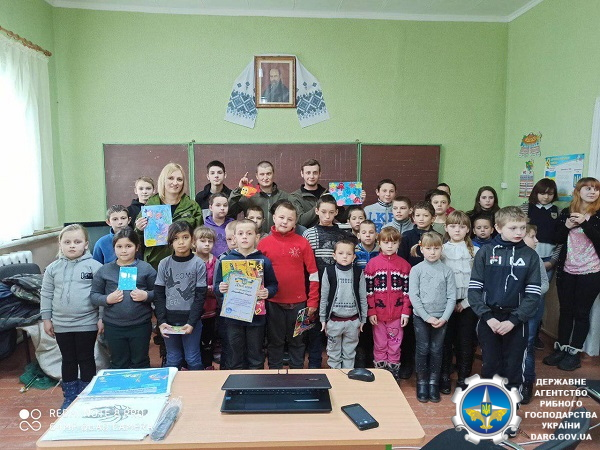 Школярі Житомирщини та Київщини ознайомилися з правилами рибальства та особливостями рибоохоронної роботи
