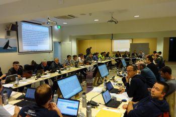 Україна взяла участь у засіданні XXXIV  сесії CCAMLR