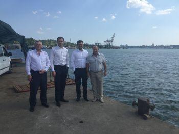 Керівництво Держрибагентства України здійснило робочі поїздки до Західно-Чорноморського та Херсонського теруправлінь