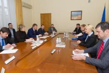 Кутовий обговорив з віце-президентом ЄІБ механізми надання допомоги малому та середньому фермеру