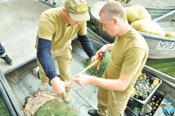 Київський рибоохоронний патруль провів велику спецоперацію на Канівському водосховищі