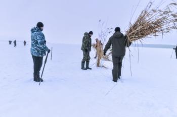 11 лютого Київський рибоохоронний патруль та громадськість разом рятували рибу від задухи