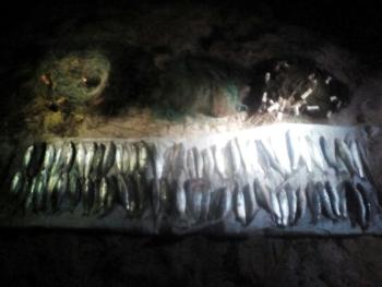 Втретє за тиждень Азовський рибоохоронний патруль виявив грубого порушника в затоці Сиваш